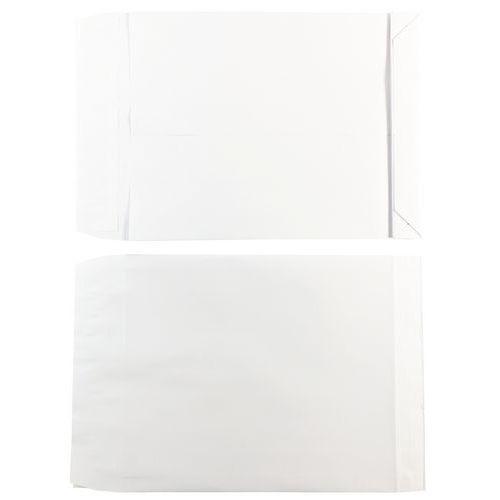 Boîte de 50 ou 250 enveloppes à soufflets velin blanc - GPV