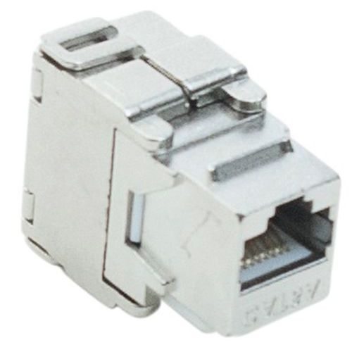 Embase RJ45 STP CAT 6A papillon horizontal