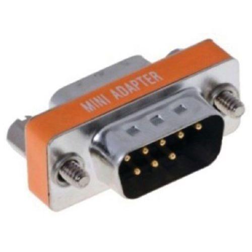 Mini adaptateur Budget null-modem 9M/F