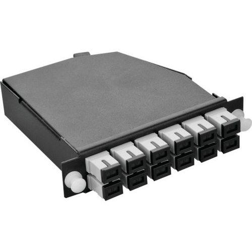 Cassette OM3 MPO vers 6 SC duplex
