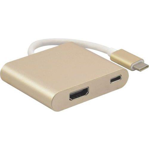 Adaptateur USB 3.1 type-C vers HDMI 2.0 et charge par type-C