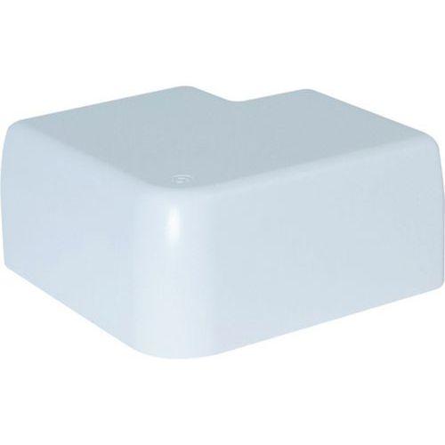 Angle plat fixe 134x55 - blanc neige