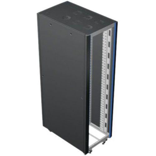 Baie serveur 24U 800 x 1000 (gris titane)