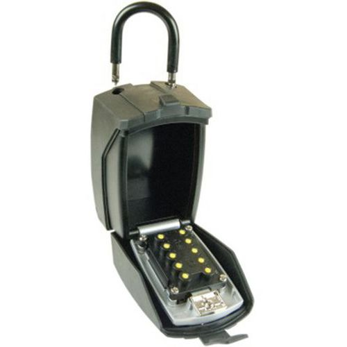 Boîtier garde clefs à code avec cache clavier Chantier