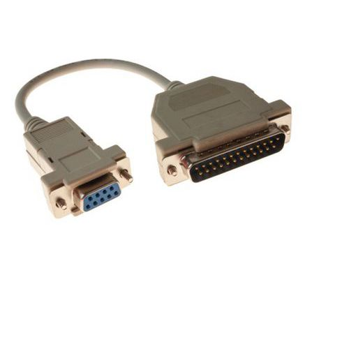 Cable at/modem DB9F/25M 0.20M