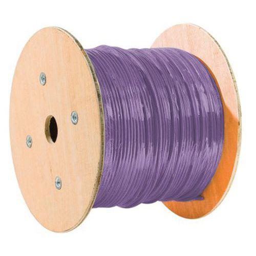 Cable double mono f/utp CAT6 violet LS0H RPC Eca - 305M