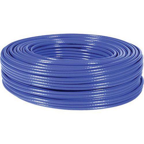 Cable F/UTP CAT6 multibrin Bleu - 100M