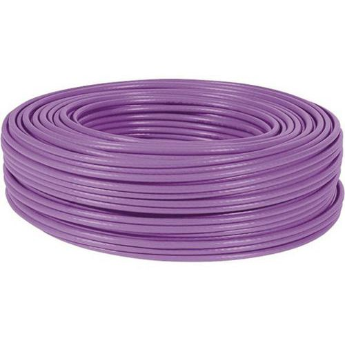 Cable monobrin s/ftp CAT7 violet LS0H RPC Eca - 100M