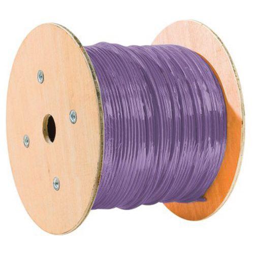Cable monobrin u/ftp CAT6A violet LS0H RPC Eca - 500M