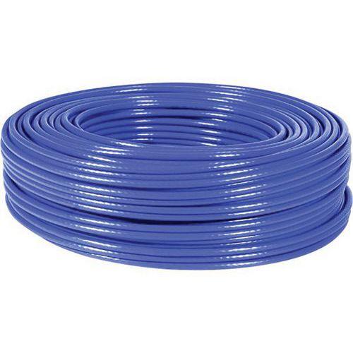Cable multibrin s/ftp CAT6 bleu - 100M