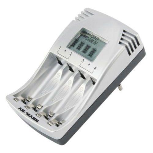 Chargeur de piles PhotoCam IV à écran LCD