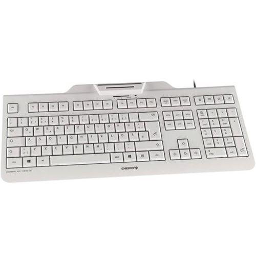 Clavier à terminal carte à puce KC-1000 SC USB blanc (FR)