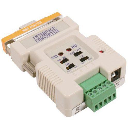 Convertisseur boucle de courrant RS-232 avec cordon USB
