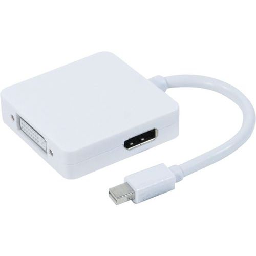 Convertisseur mini DisplayPort 1.1 vers DVI ou HDMI ou DP