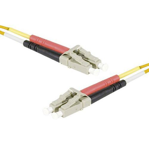 Jarretière duplex 2.0mm multi OM1 62,5/125 LC-UPC/LC-UPC 10m