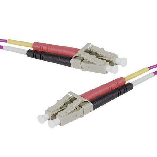Jarretière duplex 2.0 mm multi OM4 50/125 LC-UPC/LC-UPC 10 m