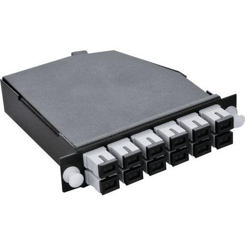 Cassette OM3 MPO vers 6 LC duplex