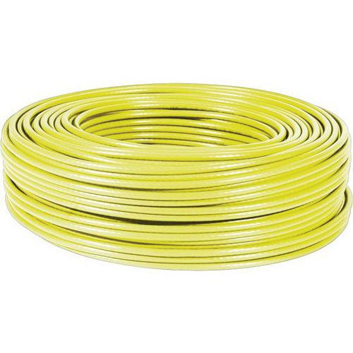 Cable multibrin f/utp CAT6A LS0H jaune - 100M
