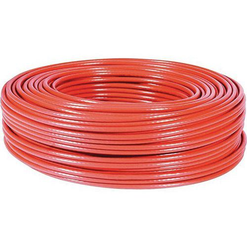 Cable multibrin f/utp CAT5E rouge - 100M