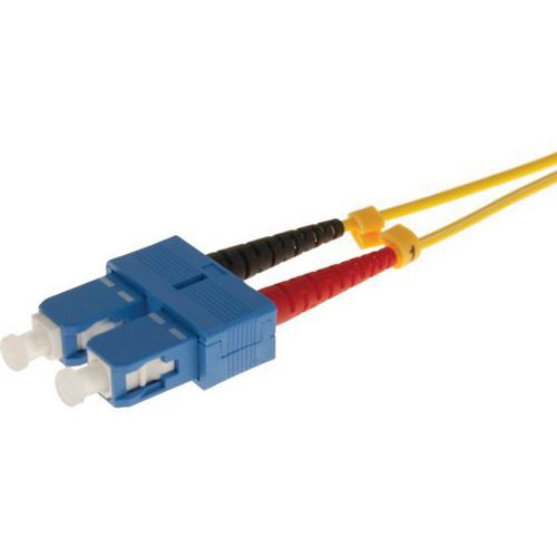 Jarretière duplex 2.0 mm mono OS2 9/125 SC-UPC/SC-UPC 10 m