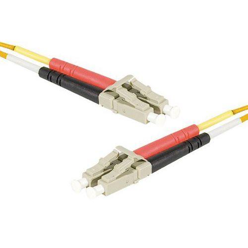 Jarretière duplex 2.0 mm multi OM1 62,5/125 LC-UPC/LC-UPC 1m