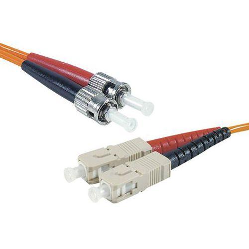 Jarretière duplex 2.0 mm multi OM2 50/125 ST-UPC/ST-UPC 1 m