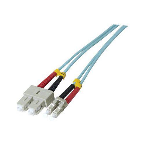 Jarretière duplex 2.0 mm multi OM3 50/125 SC-UPC/LC-UPC 1 m
