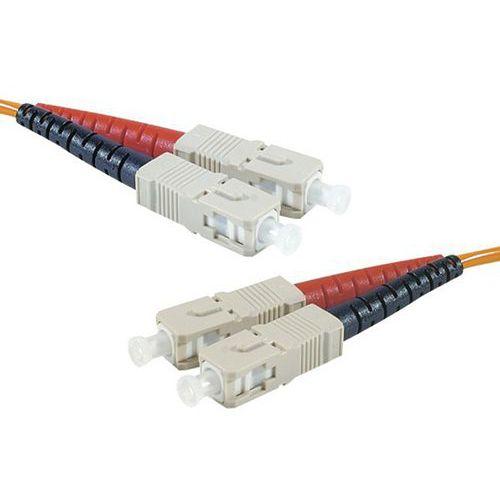 Jarretière duplex multi OM1 62,5/125 SC-UPC/SC-UPC 10 m