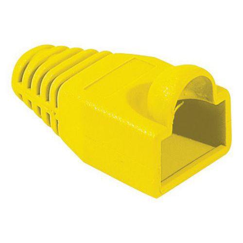 Manchons jaune diamètre 6 mm