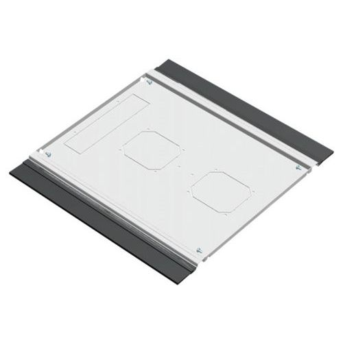 Plaque de fond avec balai passe cables 800X1000