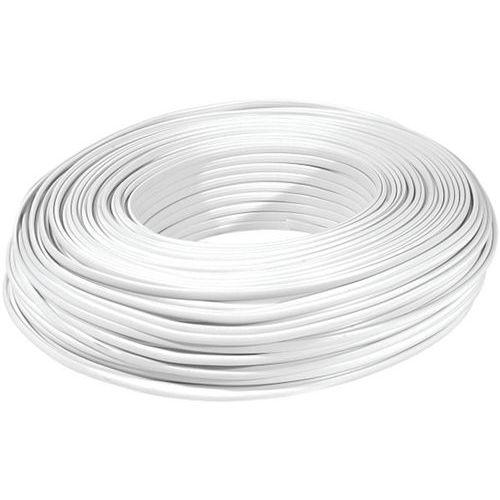 Rouleau de 100m câble méplat RJ  blanc 6C