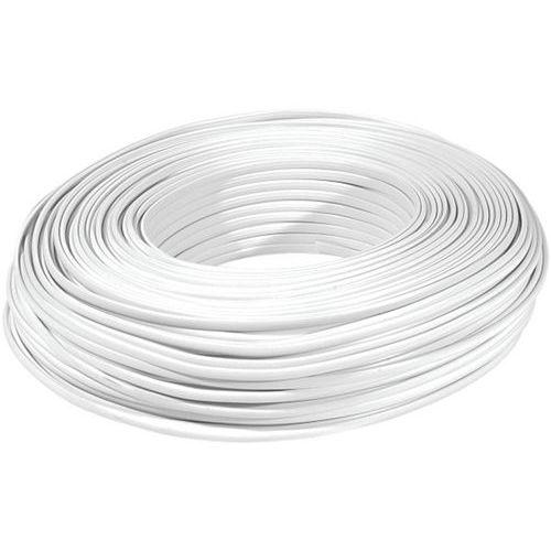 Rouleau de 100m mâble méplat RJ blanc 8C