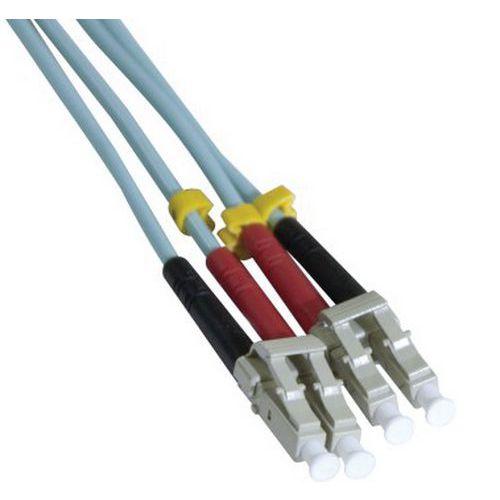 Jarretière duplex 2.0 mm multi OM3 50/125 LC-UPC/LC-UPC 5 m