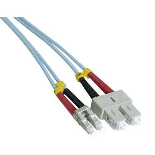 Jarretière duplex 2.0 mm multi OM3 50/125 SC-UPC/LC-UPC 3 m