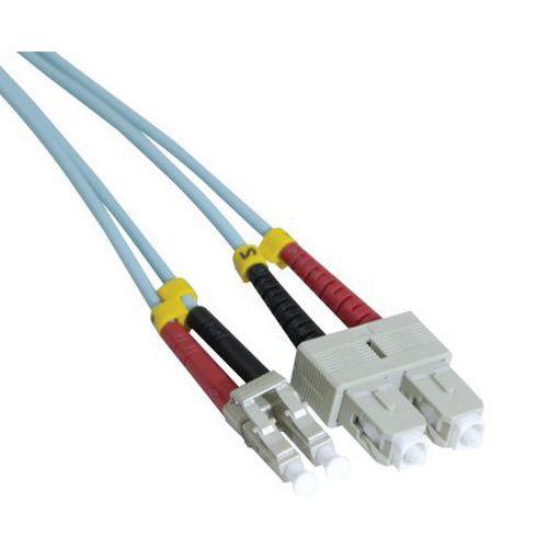 Jarretière duplex 2.0 mm multi OM3 50/125 SC-UPC/LC-UPC 5 m