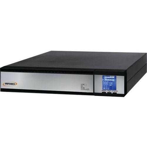 Onduleur E6 LCD RT Evolution 3000 VA Pack full
