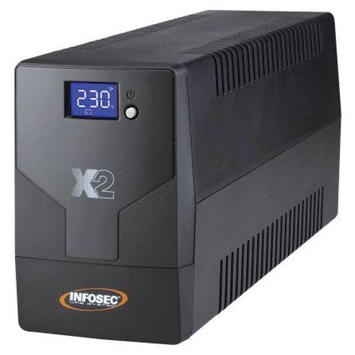 Onduleur X2 LCD TOUCH 1000 VA IEC