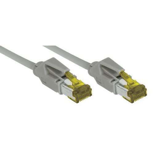Cordon RJ45 sur câble catégorie 7 S/FTP LSOH snagless 30 m