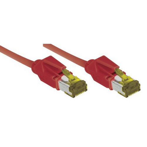 Cordon RJ45 sur câble catégorie 7 S/FTP LSOH snagless 15 m