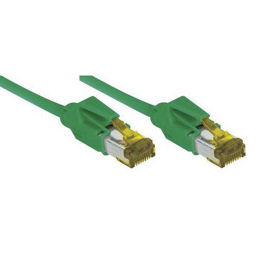 Cordon RJ45 sur câble catégorie 7 S/FTP LSOH snagless 7,5 m