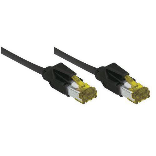 Cordon RJ45 sur câble catégorie 7 S/FTP LSOH snagless 20 m