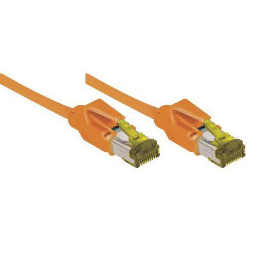 Cordon RJ45 sur câble catégorie 7 S/FTP LSOH snagless 3 m