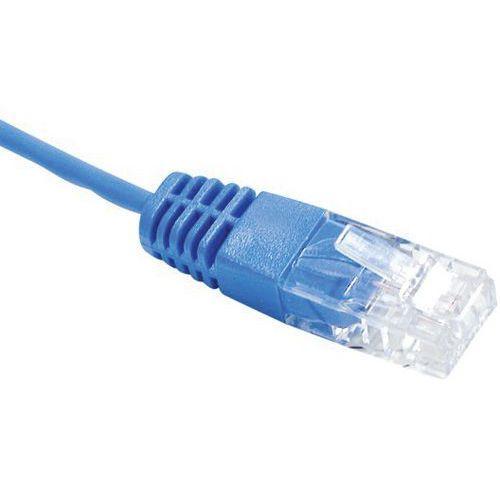 Cordon UTP 1P bleu RJ45/RJ45 Téléphone 100 ohms - 0,50M