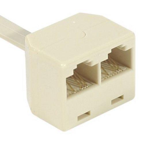 Eclateur de paires RJ45 M/F/F Ethernet - cordon 15 cm