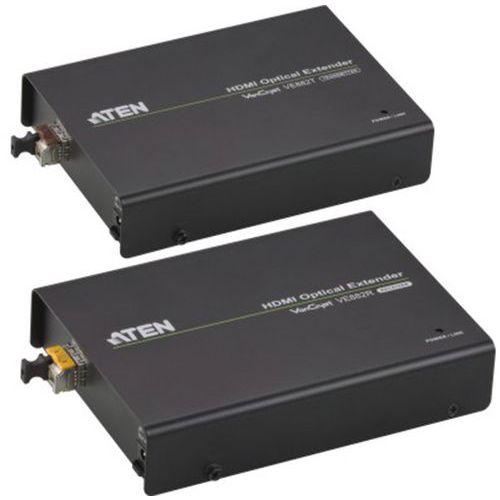 Extendeur 600m hdmi Aten VE882 sur fibre optique