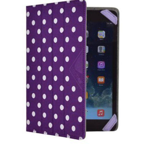 Folio réversible pour tablette -7/8'' Violet/Blanc Techair