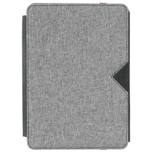 Folio universel Eazy stand tablette-7/8'' Gris/Rouge Techair
