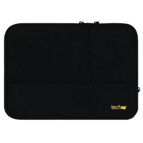 Housse néoprène Plus ordinateur portable-11.6'' Noir Techair