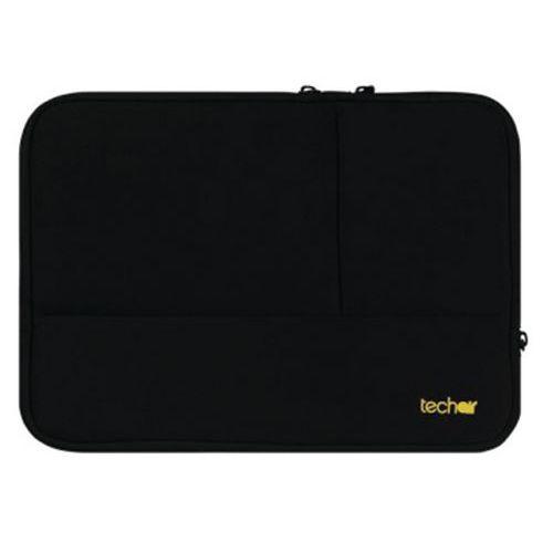 Housse néoprène Plus ordinateur portable-15.6'' Noir Techair