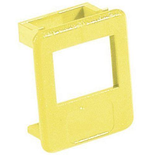 Insert pour panneau RJ jaune